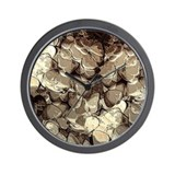 Guitar Pick Art #7 Wall Clock
