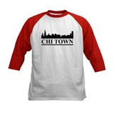 Chicago Skyline Chi Town Tee