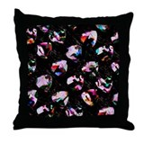 Guitar Pick Art #1 Throw Pillow