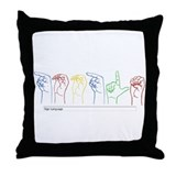 Google Search Throw Pillow