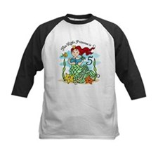 Mermaid Princess 5th Birthday Tee