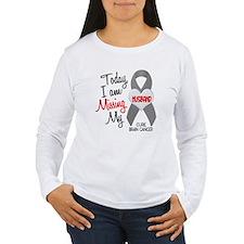 Missing 1 Husband BRAIN CANCER T-Shirt