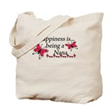 Butterfly Being A Nana Tote Bag