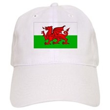 Wales Flag Gear Baseball Cap
