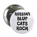 RUSSIAN BLUE CATS ROCK Button