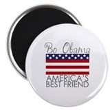 Bo Obama Best Friend Magnet