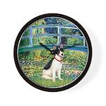 Bridge / Rat Terrier Wall Clock