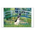 Bridge / Rat Terrier Sticker (Rectangle)