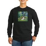 Bridge / Rat Terrier Long Sleeve Dark T-Shirt