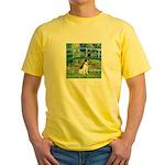 Bridge / Rat Terrier Yellow T-Shirt