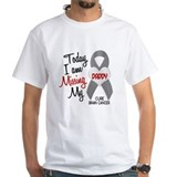 Missing 1 Daddy BRAIN CANCER Shirt