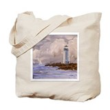 Santa Cruz Lighthouse Tote Bag