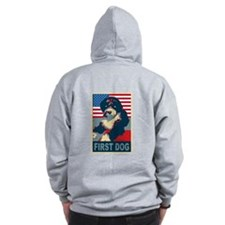 First Dog BO Obama Zip Hoodie