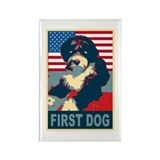 First Dog BO Obama Rectangle Magnet