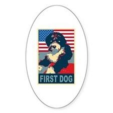 First Dog BO Obama Oval Sticker (50 pk)