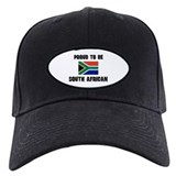 Proud To Be SOUTH AFRICAN Baseball Hat