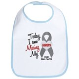 Missing 1 Grandpa BRAIN CANCER Bib