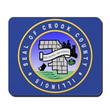Crook County Seal Mousepad