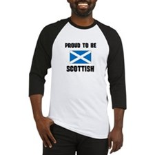 Proud To Be SCOTTISH Baseball Jersey