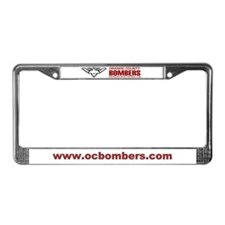 Bombers License Plate Frame