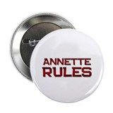 "annette rules 2.25"" Button (10 pack)"