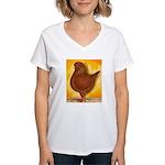 Schietti Modena Pigeon Women's V-Neck T-Shirt
