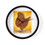Schietti Modena Pigeon Wall Clock
