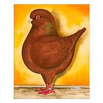 Schietti Modena Pigeon Small Poster