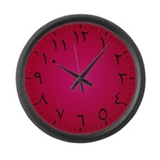 Eastern Arabic Large Wall Clock (Arabian Majesty)