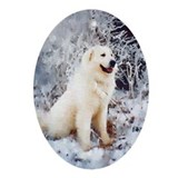 Great Pyrenees Ornament [ov] Winterwood