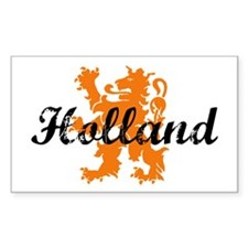 Holland Rectangle Stickers