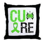 CureNon-HodgkinsLymphoma Throw Pillow