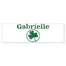 Gabrielle shamrock Bumper Bumper Sticker