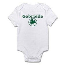 Gabrielle shamrock Infant Bodysuit