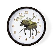 Moose Lake Wall Clock