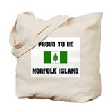 Proud To Be NORFOLK ISLAND Tote Bag