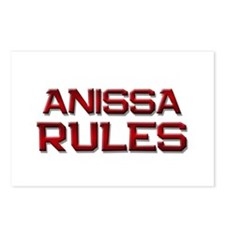 anissa rules Postcards (Package of 8)