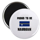 Proud To Be NAURUAN Magnet