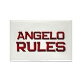 angelo rules Rectangle Magnet (10 pack)