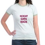 OCICAT CATS ROCK T