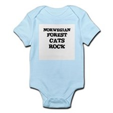 NORWEGIAN FOREST CATS ROCK Infant Creeper
