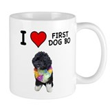 I Love First Dog Bo Coffee Mug