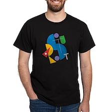 Stuart's Black T-Shirt