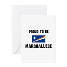 Proud To Be MARSHALLESE Greeting Card