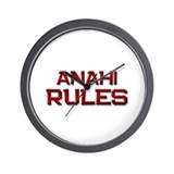 anahi rules Wall Clock