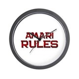 amari rules Wall Clock