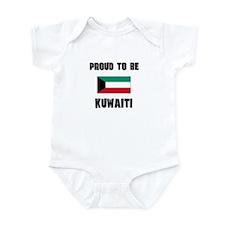 Proud To Be KUWAITI Infant Bodysuit