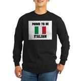 Proud To Be ITALIAN T