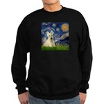 Starry Night / Scottie (w) Sweatshirt (dark)