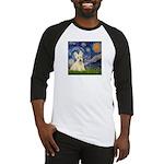 Starry Night / Scottie (w) Baseball Jersey